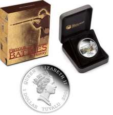 2009 Famous Battles in History - Gettysburg 1 Oz Silver Proof Coin
