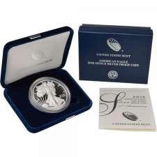2016-W US Mint American Silver Eagle Proof Set One Ounce .999 Fine