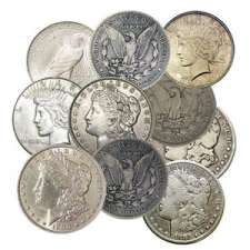 Very Good to Extra Fine Silver Dollars